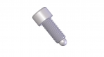 SS Ball Ended Kinematic Adjustment Screw - .250 Ball Size