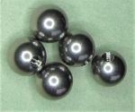 Blind Threaded 302 Stainless Steel Balls - .375 Ball Diameter