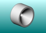 Screw Mount Kinematic Cone - 1.000 Ball Size