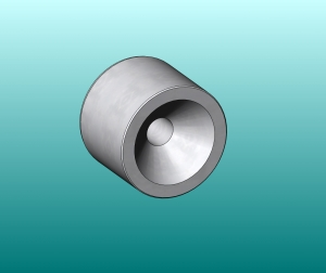 Screw Mount Kinematic Cone - .750 Ball Size