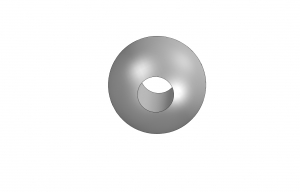 Through Threaded Balls - .188 Ball Diameter