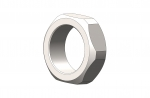 1/2-40 304 S.S. Precision Lock Nut