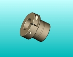 Precision Locking Collet - .500 Screw Dia - .50 Insert Length